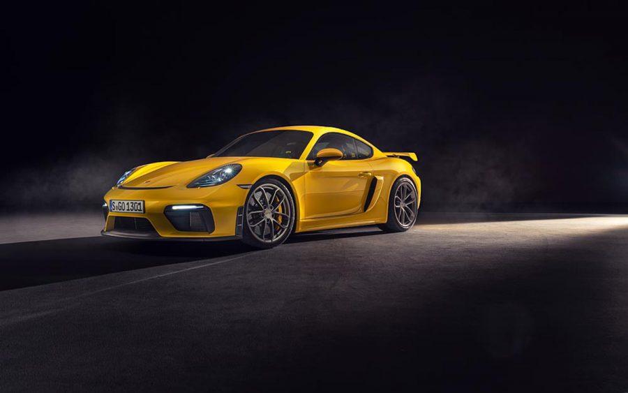 Autoelite presenta Porsche 718 Spyder y 718 Cayman GT4 4