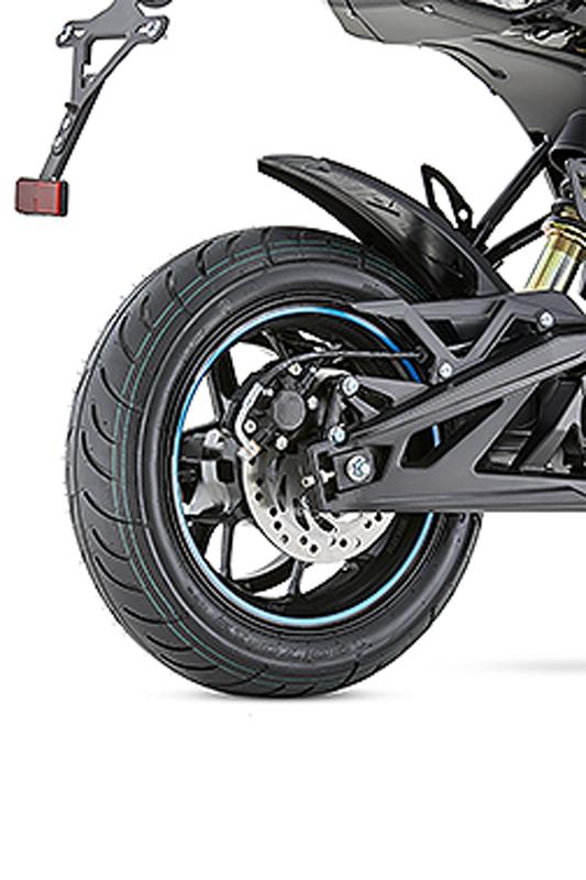 Auteco lanza la moto eléctrica Thunder 1500 4
