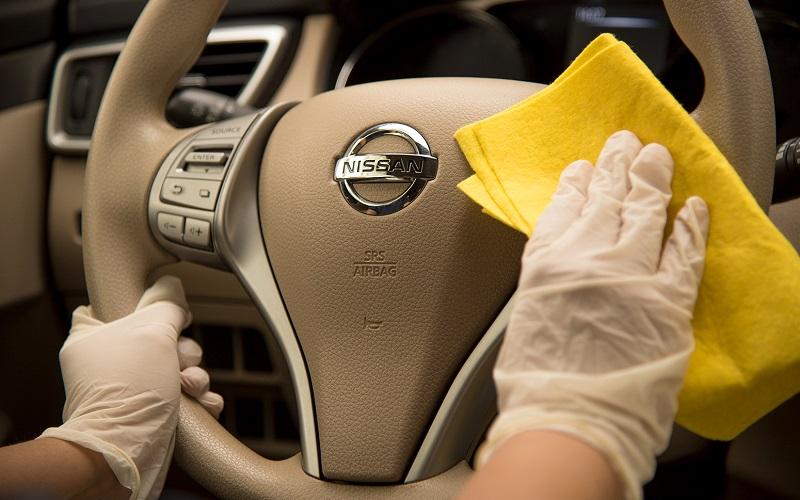 Consejos de Nissan para limpiar el vehículo