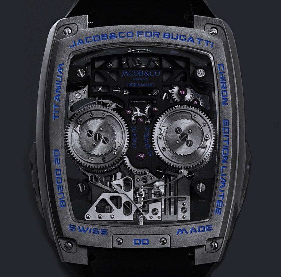 Bugatti Chiron Tourbillon, un reloj impresionante