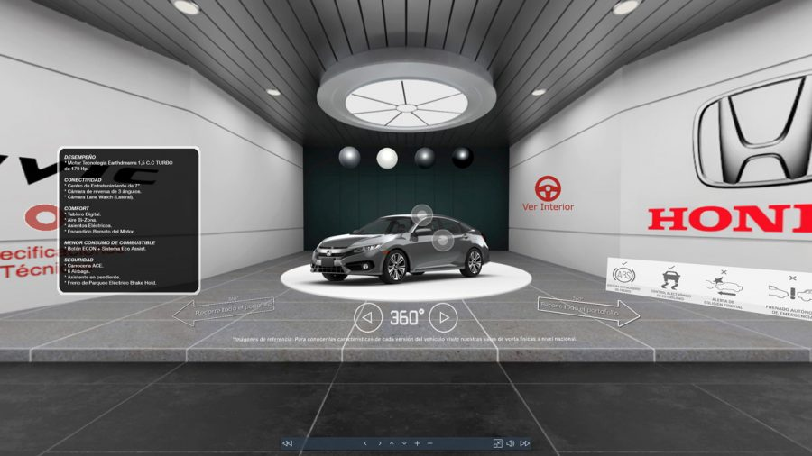 Honda inaugura su sala virtual 360 NEXT