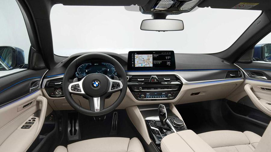 Se refresca el BMW Serie 5 4