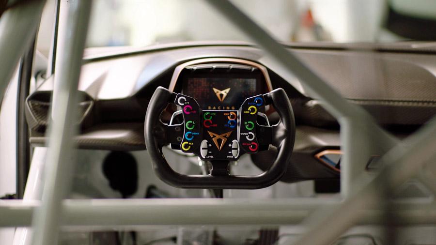 Así se prepara el CUPRA e-Racer 1