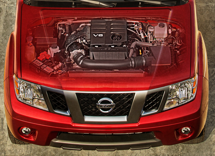 Nissan USA estrena motor en su Frontier 2
