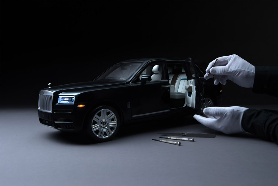 La mini versión del Rolls Royce Cullinan