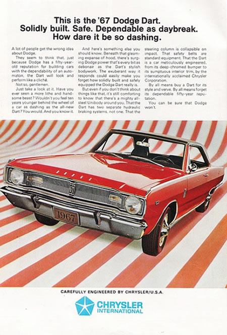 Los primeros Dodge Dart (1960 – 1969) 14