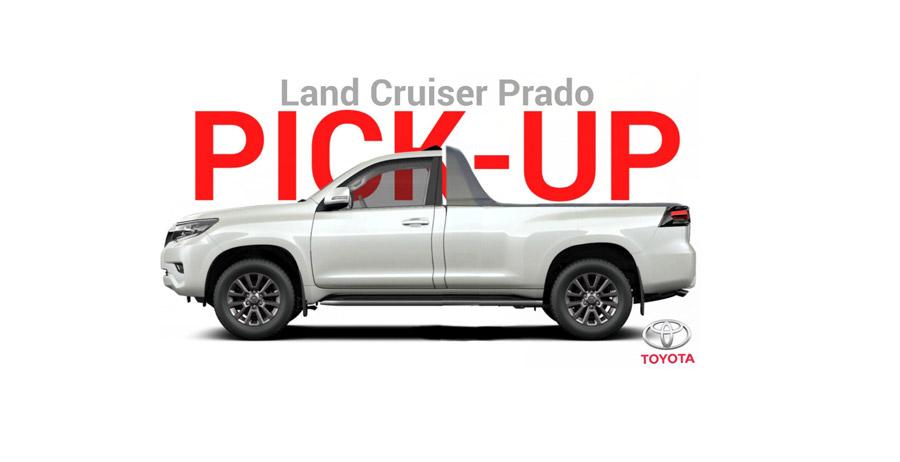 En serio, una Prado pickup? 2