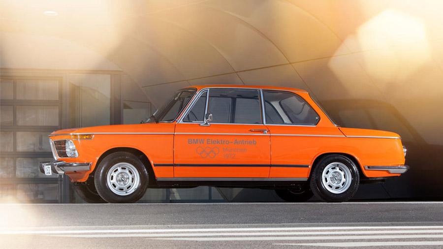 Tributo al primer BMW EV 1
