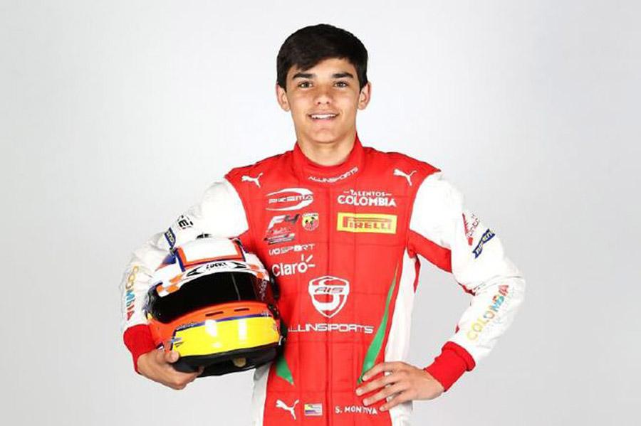 Sebastián Montoya debuta en la F4 Italiana 3