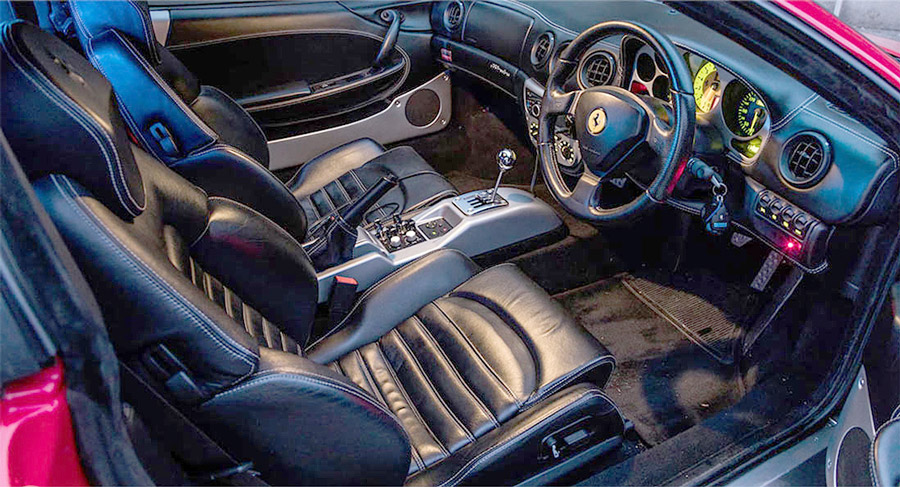 limusina Ferrari