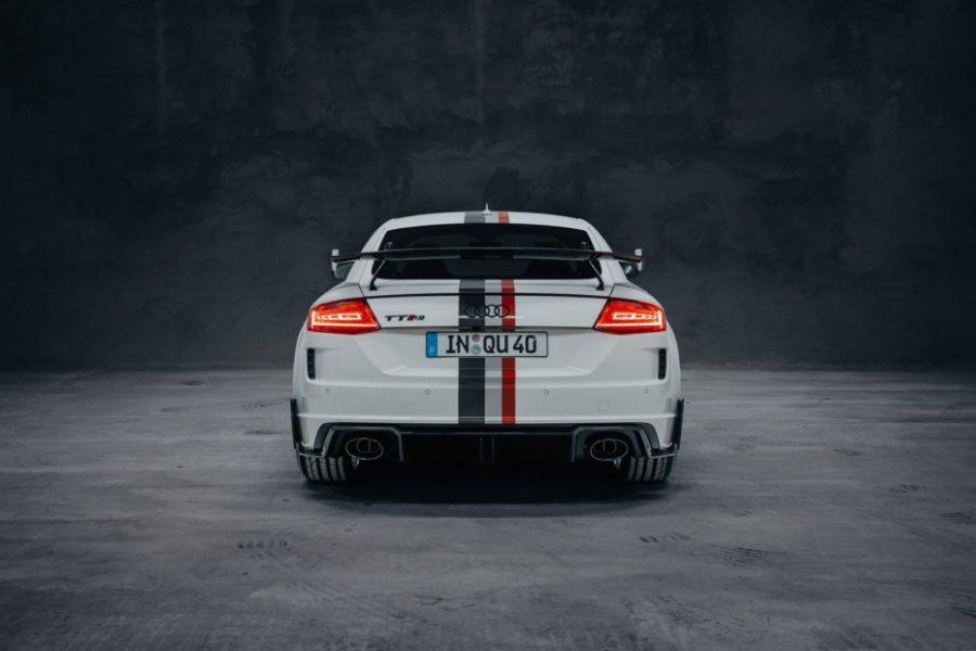 Audi TT RS: Homenaje a los 40 años de quattro 2