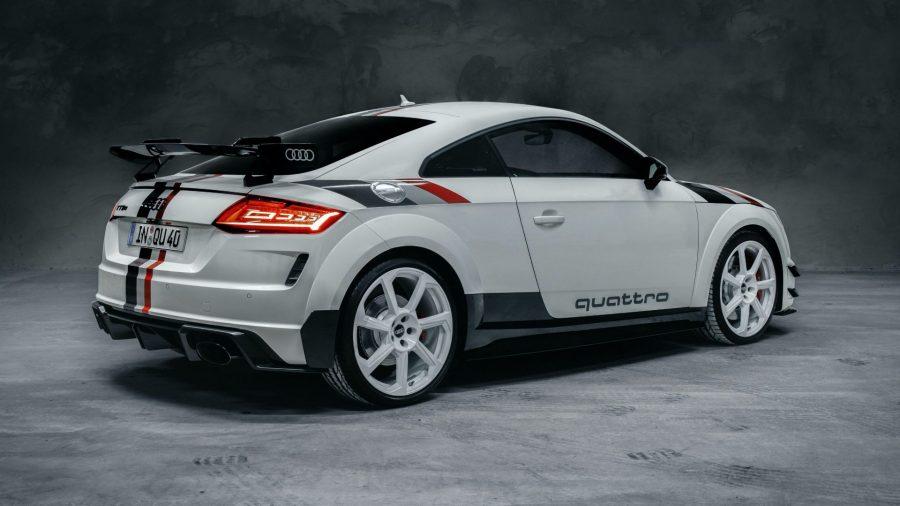 Audi TT RS: Homenaje a los 40 años de quattro 4
