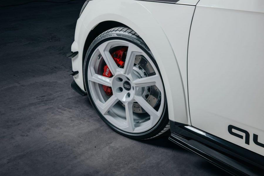 Audi TT RS: Homenaje a los 40 años de quattro 5