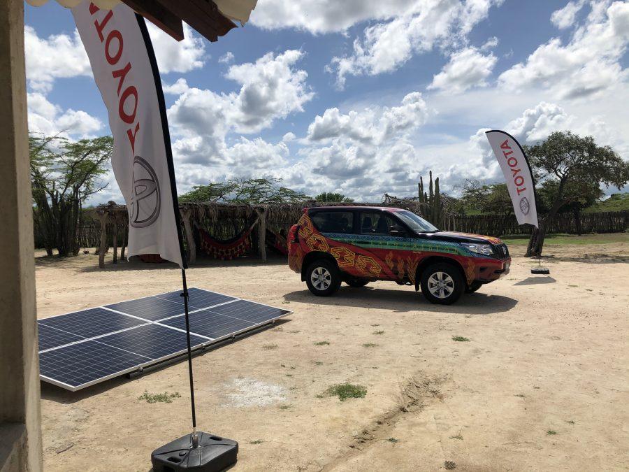 Toyota entrega páneles solares a comunidad Wayúu 2