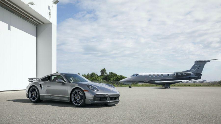 Porsche y Embraer: elegancia en tierra y aire 3