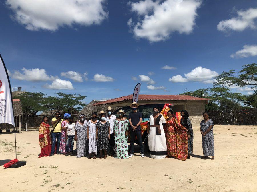 Toyota entrega páneles solares a comunidad Wayúu 3