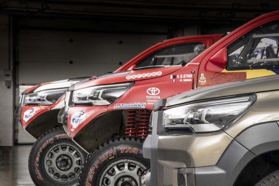 Aquí la Toyota Hilux del Dakar 2021 6