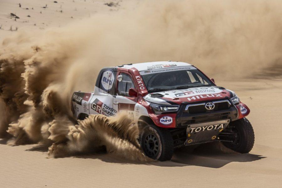 Aquí la Toyota Hilux del Dakar 2021 2