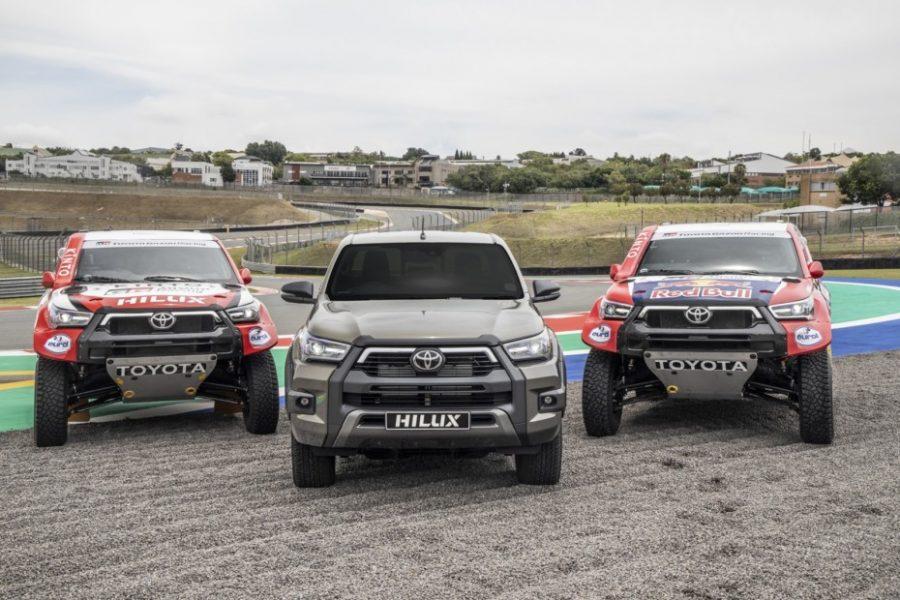 Aquí la Toyota Hilux del Dakar 2021 5