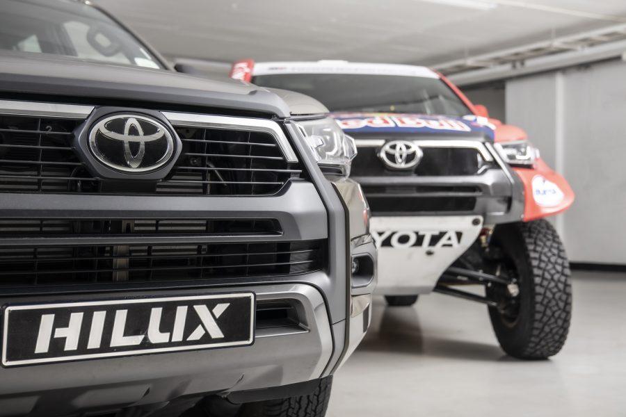 Aquí la Toyota Hilux del Dakar 2021 7