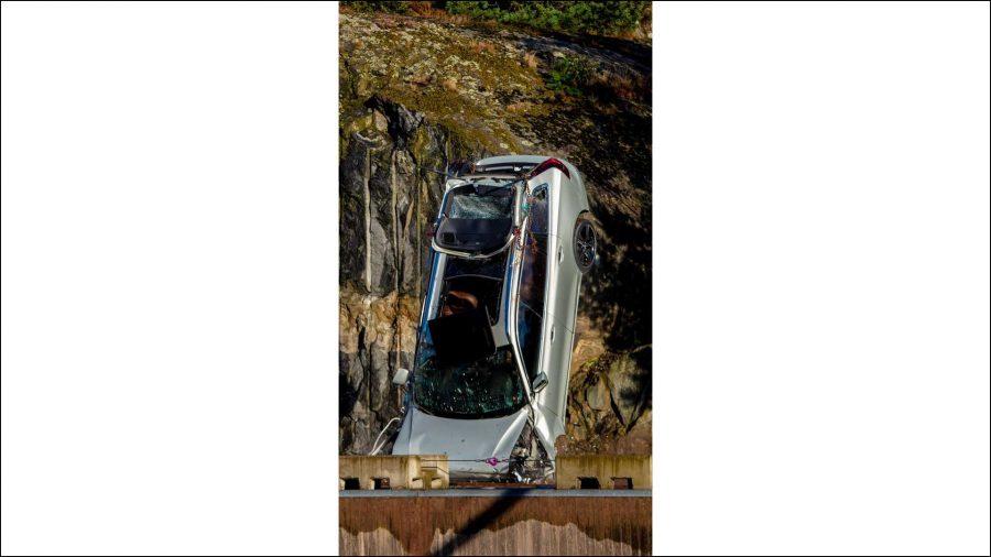 La grúa de Volvo 4