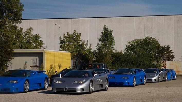 Bugatti y Lotus reunidos en La Fabbrica Blu 1