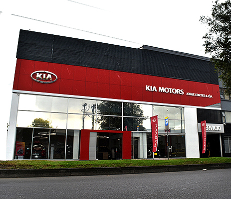 Jorge Cortes tendrá nueva vitrina de KIA 1