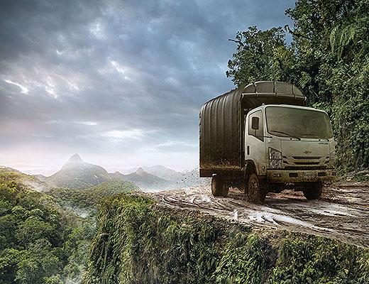 Llega a Colombia el primer camión 4x4 de Chevrolet: NPS Reward 5