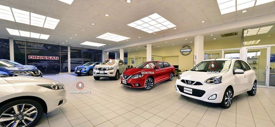 Nissan lanza su primer concesionario virtual 360° en Colombia