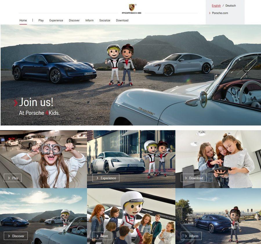 Porsche ofrece juegos interactivos durante los días de Cuarentena