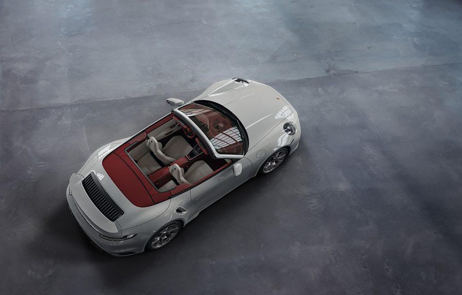 Nuevo interior de cuero bitono para el Porsche 911