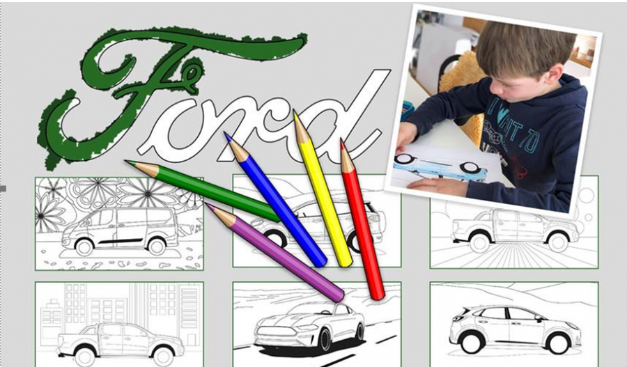 Centro de entretenimiento Ford online para toda la familia