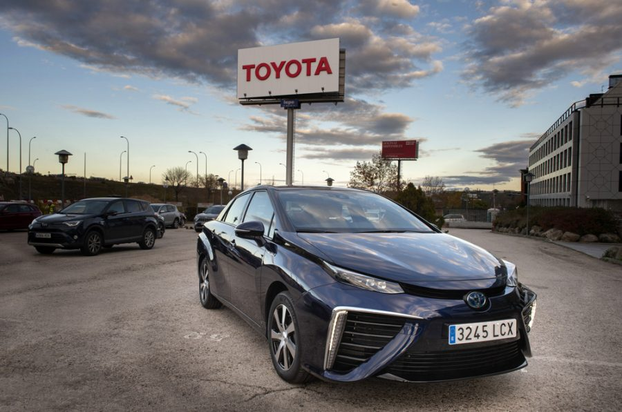 Toyota Mirai recorre 5 millones de kilómetros al servicio de CleverShuttle