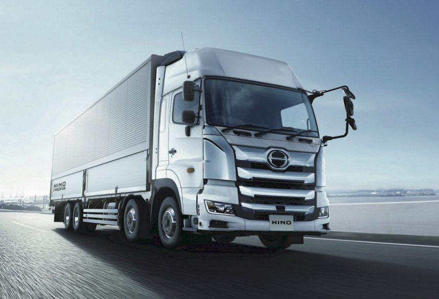 Toyota e Hino desarrollan un camión grande impulsado por hidrógeno