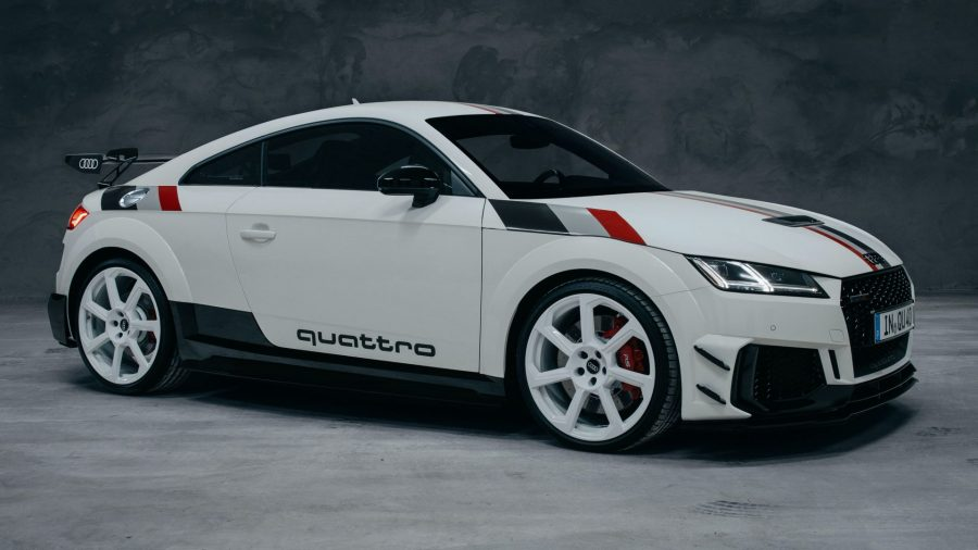 Audi TT RS: Homenaje a los 40 años de quattro 18