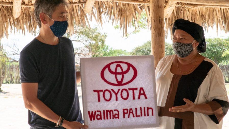 Toyota entrega páneles solares a comunidad Wayúu 5