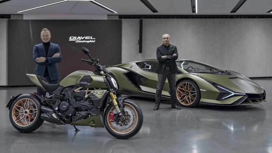 Pura velocidad Ducati Lambo 3
