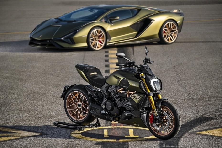 Pura velocidad Ducati Lambo