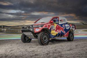 Aquí la Toyota Hilux del Dakar 2021 44