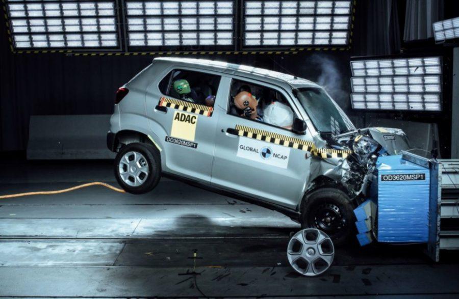 Suzuki S-Presso, cero estrellas en pruebas NCAP 29