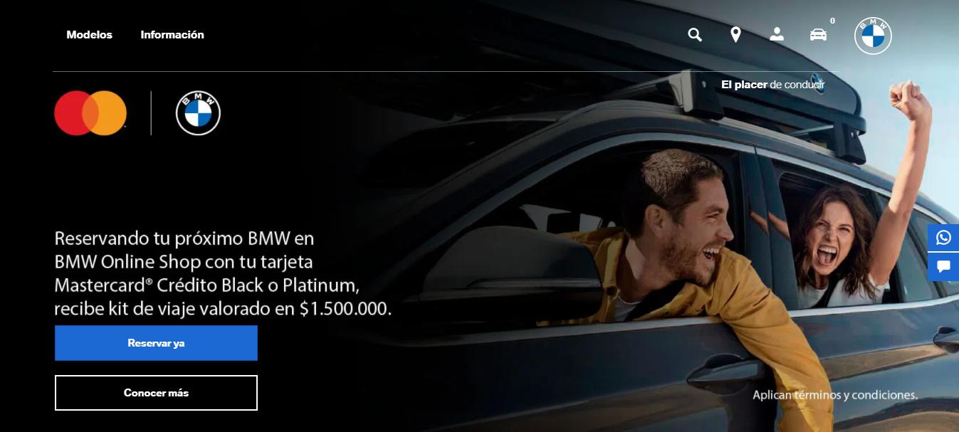 Se afianza el acuerdo BMW y Mastercard 2