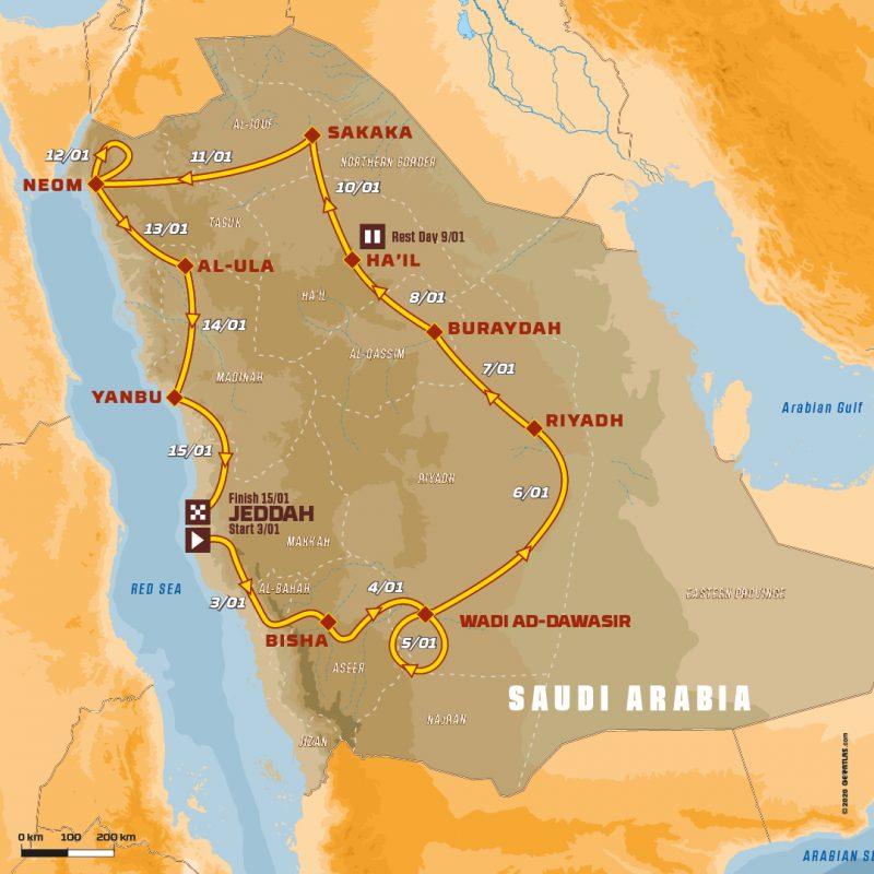 Colombia presente en el Dakar 2021 2