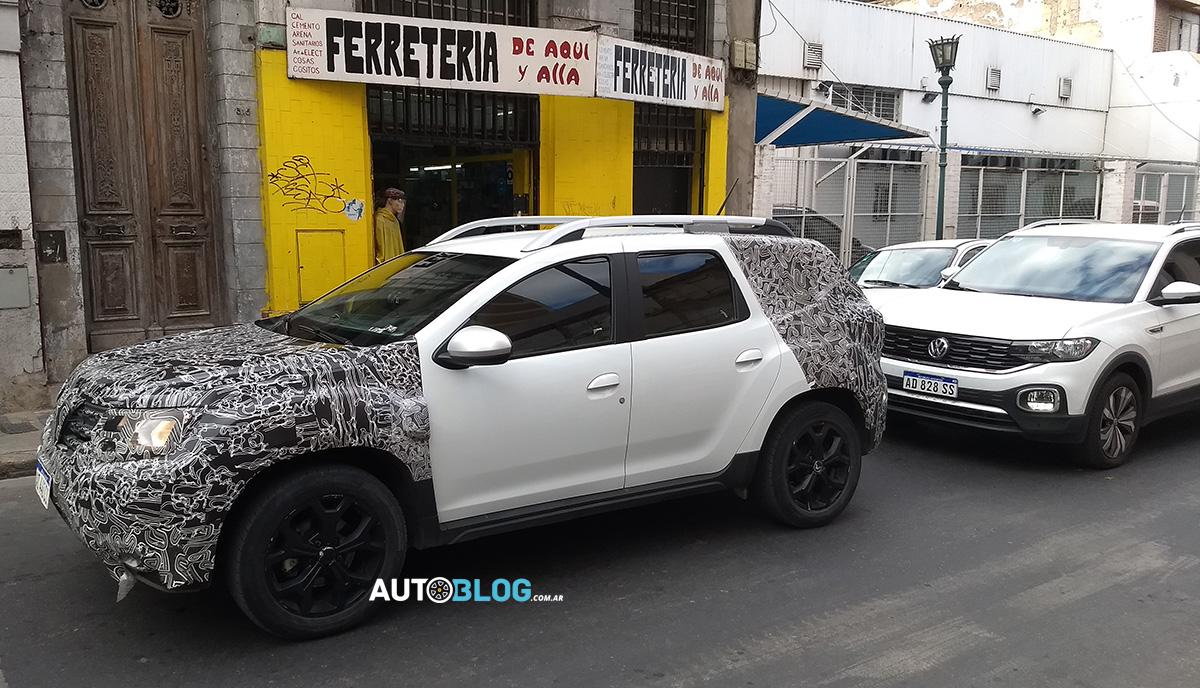 La Duster colombiana ya se prueba en Argentina 4