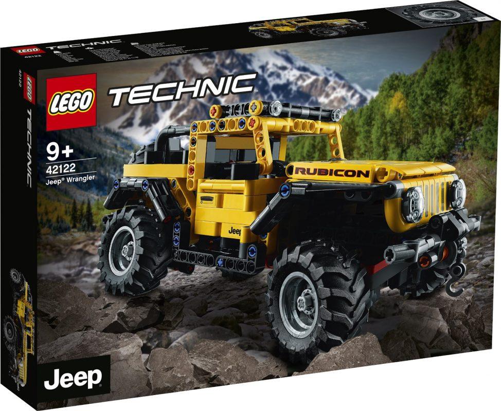 Un Todoterreno Lego de 665 piezas 4