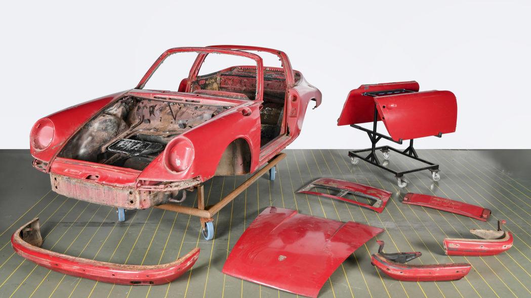 Revive un Porsche 911 S Targa 1966 2