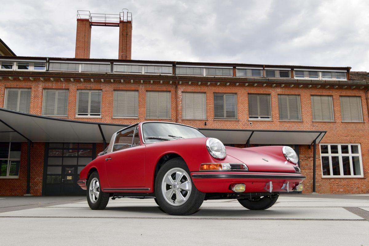 Revive un Porsche 911 S Targa 1966 1