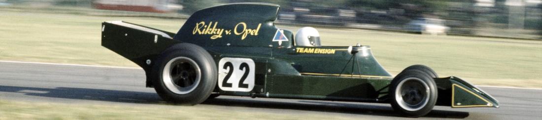 El primer colombiano en la F1 fue un Opel 3