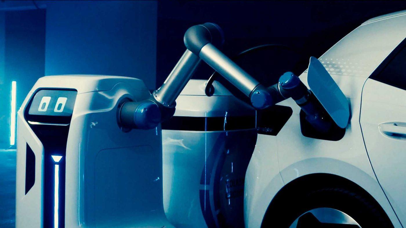 El robot VW de carga móvil 1