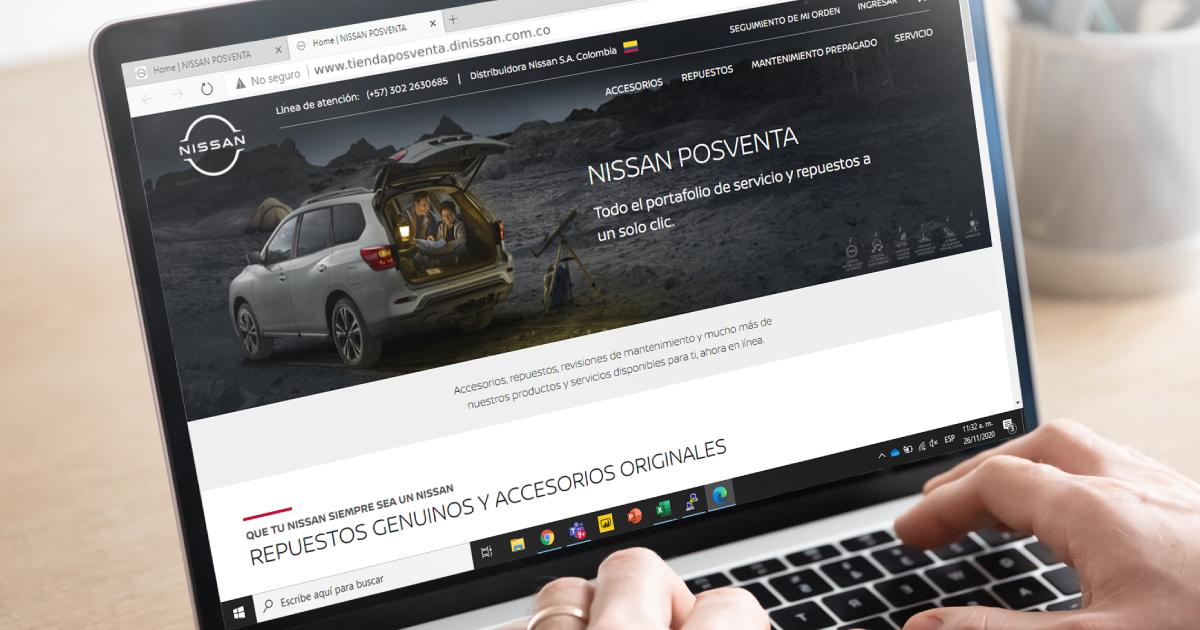 Nissan lanza tienda online posventa 2