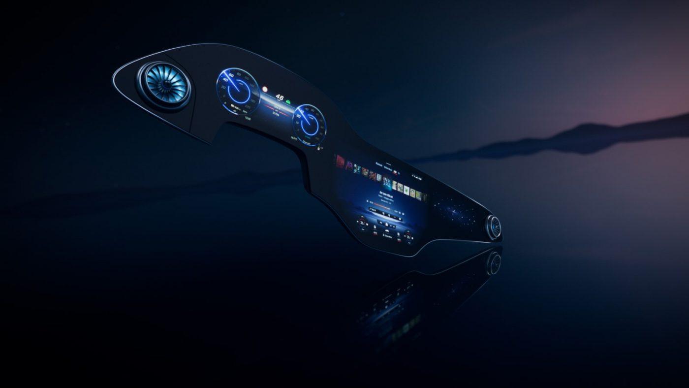 La superpantalla inteligente de Mercedes-Benz 2